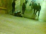 бомжи в метро,тележка,ахах,ст.м.орехово
